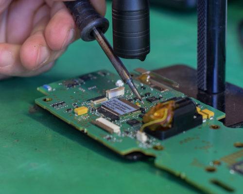riparazione attrezzature